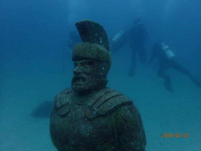 Underwater Museum at Poctoy White Beach photo by Freedom Dellosa via FB