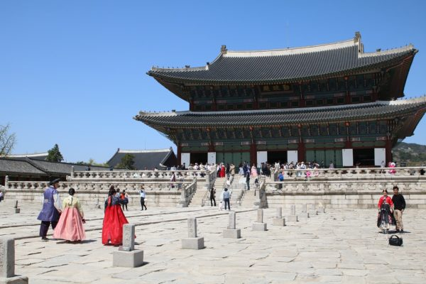 guided tour of the Gyeongbokgung Palace