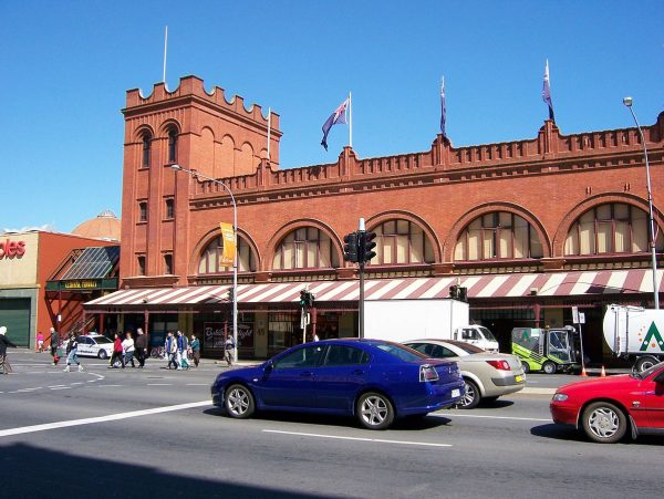 Adelaide Central Market photo by Scott W via Wikipedia CC