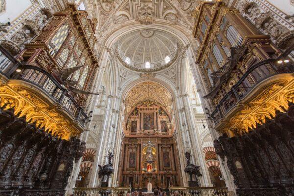 Altar Of Cordoba Cathedral