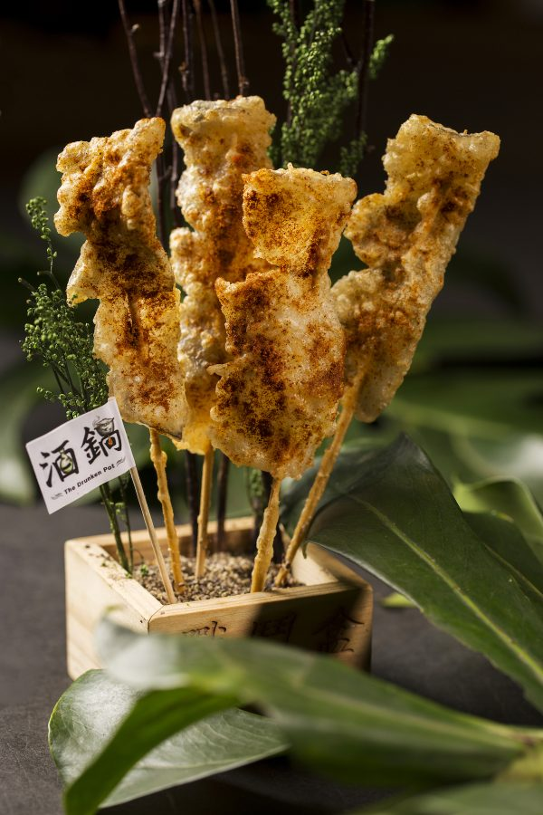 """Also on the promotional Father's Day menu are specialty items including a crispy, spicy, deep-fried """"CROCPop"""" snack of crocodile tail meat, perfect with beer before a hot pot feast"""