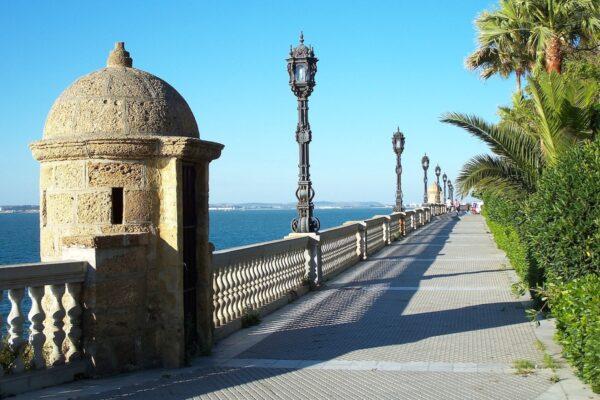 Cadiz Spain Baywalk