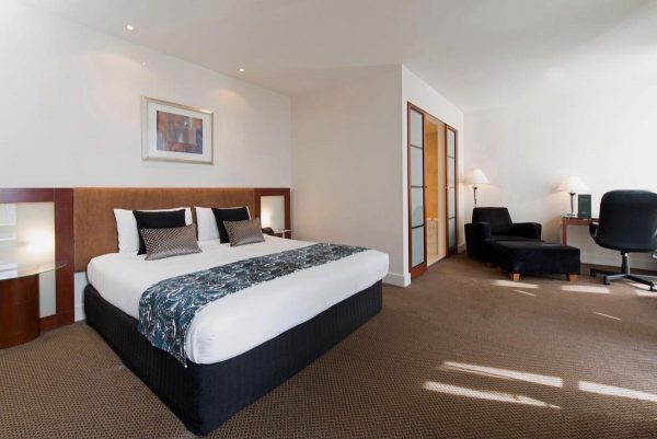 Deluxe Room of Peppers Waymouth Hotel