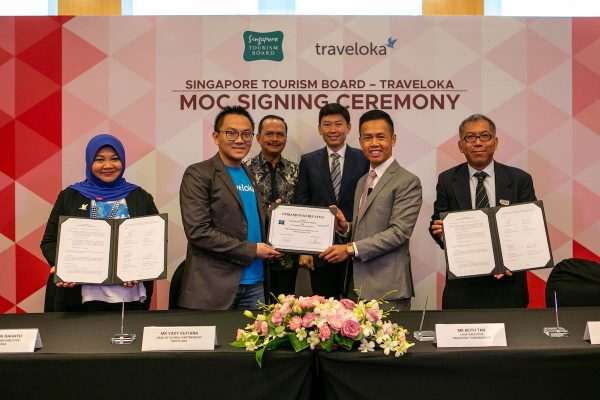 STB and Traveloka in Partnership to Attract More South-East Asian Visitors to Singapore