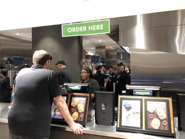 The counters in Shake Shack