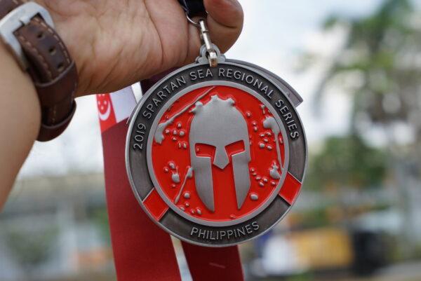 2019 Spartan SEA Regional Series Philippines Medal