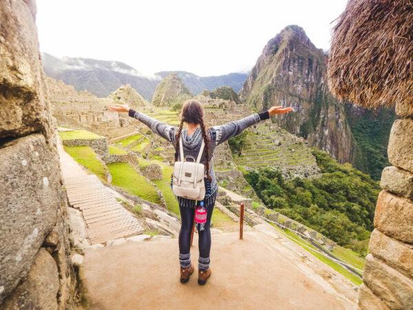 Isadora Koller in Machu Picchu