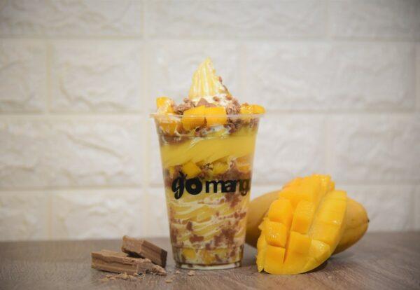 Mango Chocnut Cream Sundae