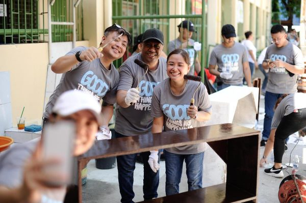 Starbucks Volunteer Activity Good Things are Happening