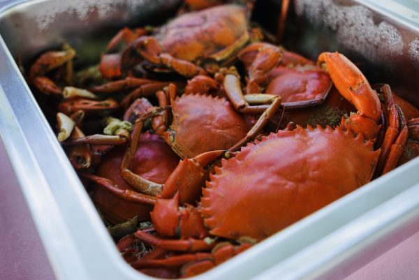 Steamed Crabs aka Kinis