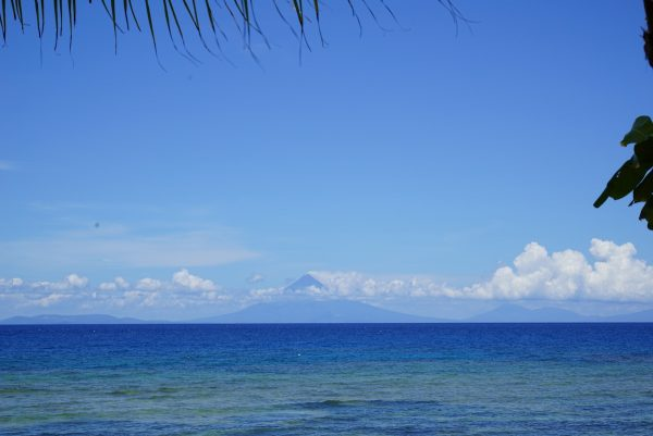 View of Mayon Volcano from Batag Beach
