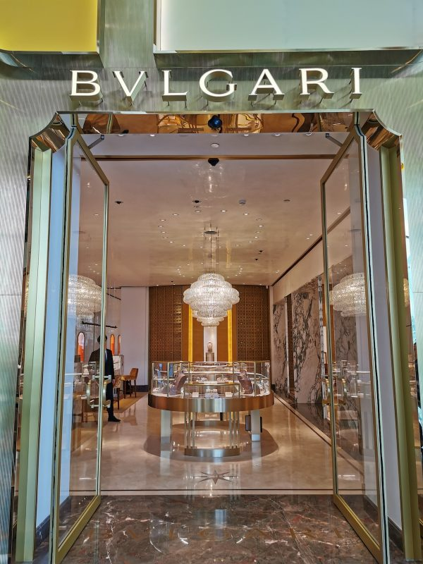 Bulgari Shop in Bangkok IconSiam