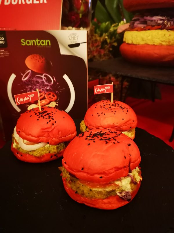 Best with Beer. That is what Chef Hong Thaimee says about the best pairing for her new Inspi(RED) burger