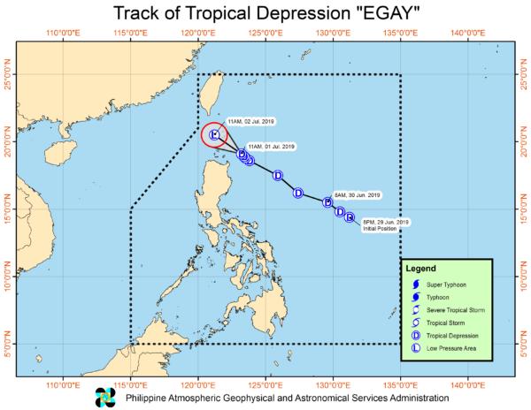 Philippine Weather Update July 2 2019