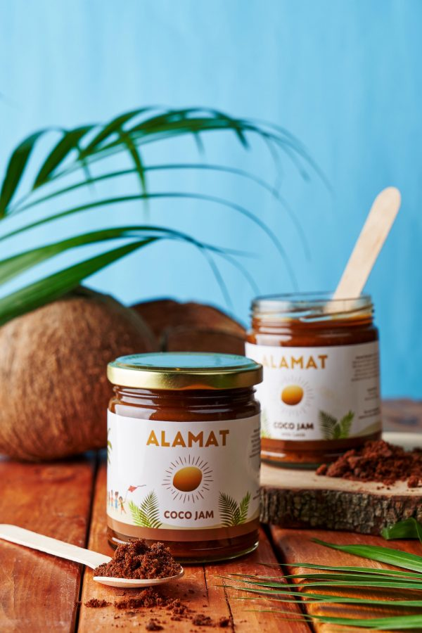 Rojo Coffee puts a flavorful twist to the classic Filipino snack ALAMAT COCO JAM, a sure-hit among their customers.