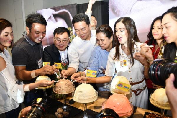 Sili Ice Cream from Naga City at Philippine Travel Mart