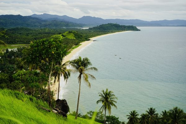 View of Irawan Beach from Bato ni NingNing viewpoint