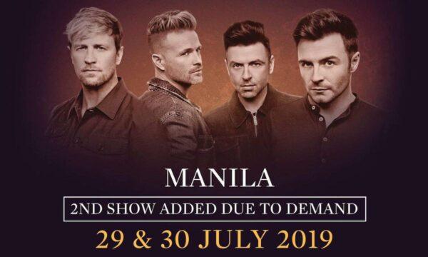 Westlife Manila Concert photo via MYX