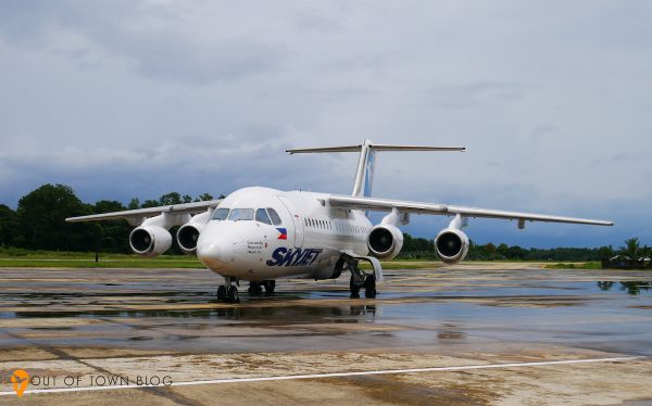 skyjet flights from Manila to San Vicente Palawan
