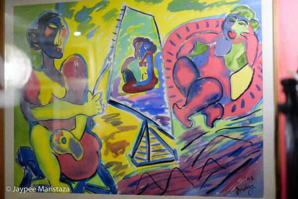 Arts everywhere. © Jaypee Maristaza