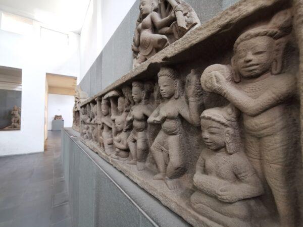 Cham Sandstone Sculptures in Da Nang