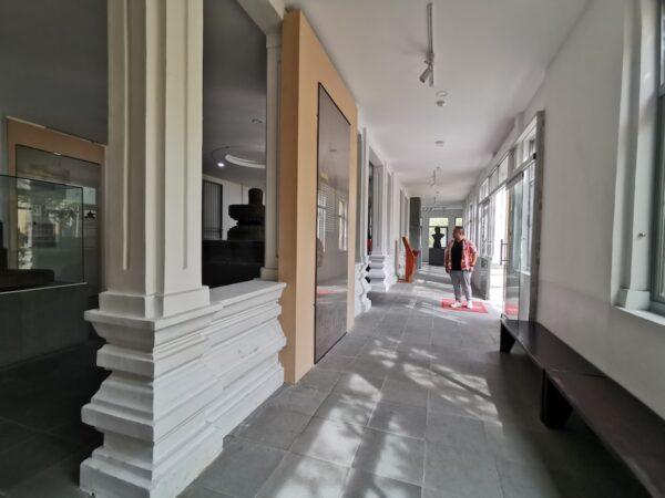 Cham Sculpture Museum entrance