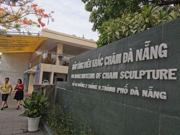 Cham sculpture museum in Da Nang