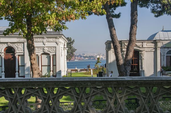 It is very relaxing to just sit and watch the Bosphorus from one of the terraces.
