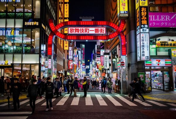 Kabukicho by Manuel Velasquez via Unsplash