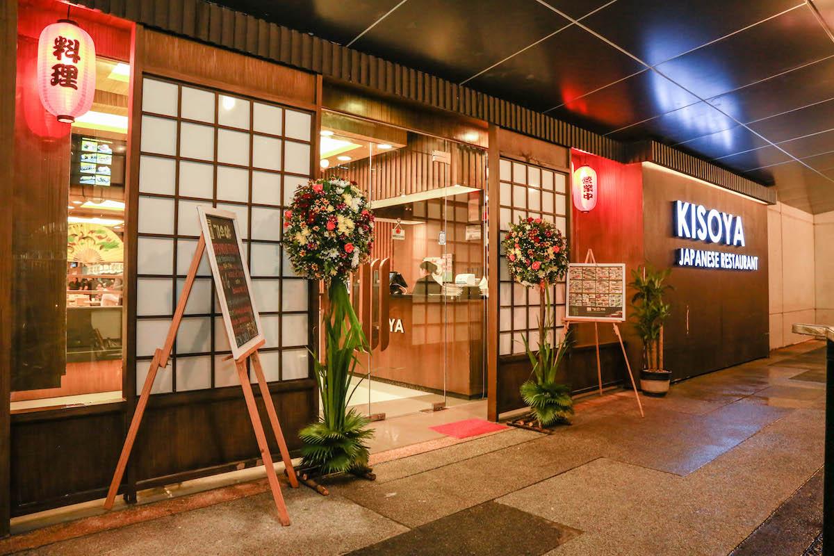 Kisoya Japanese Restaurant in Asiatown