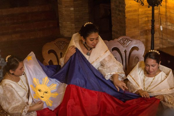 Sewn by Marcela Marino de Agoncillo, Lorenza Agoncillo, and Delfina Herbosa de Natividad in Hong Kong, each color and symbol in the Philippine flag speaks of the colorful stories our ancestors have to go through.
