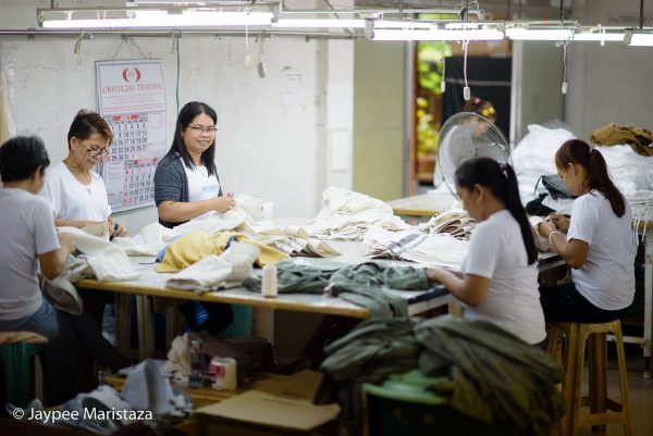 Touring around the factory and watching the smiley, happy workers! © Jaypee Maristaza