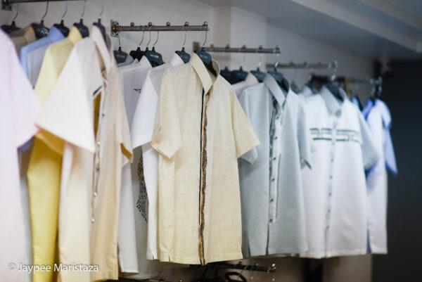 Finished men aparel's products of Obra ni Juan © Jaypee Maristaza