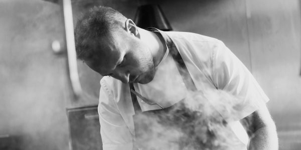 Chef Welburn shot to fame winning TV cooking competition 'The Great British Menu' and is Michelin-starred at London's W1 and The Oxford Kitchen