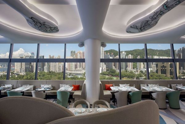 Opened in September 2016, SKYE Roofbar and Dining (SKYE) is an elegant, contemporary restaurant and bar, with electrifying views of Hong Kong's skyline, including Victoria Harbour and Victoria Park
