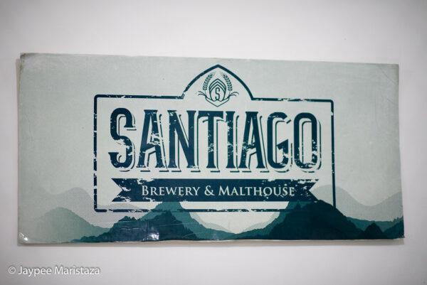Santiago's welcome sign. © Jaypee Maristaza