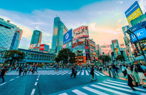 Shibuya Crossing by Jezael Melgoza via Unsplash