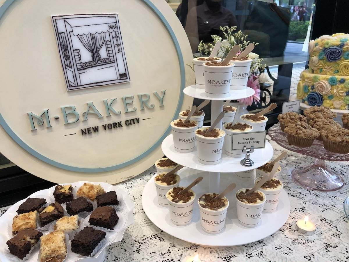 The new dish, displayed among the other delectables from M Bakery