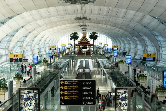 Bangkok Airport by @autthaporn via Unsplash
