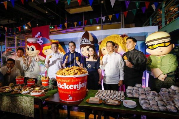"""Department of Tourism and Jollibee launch food tourism campaign """"Eats. More fun in the Philippines"""" photo via DOT"""