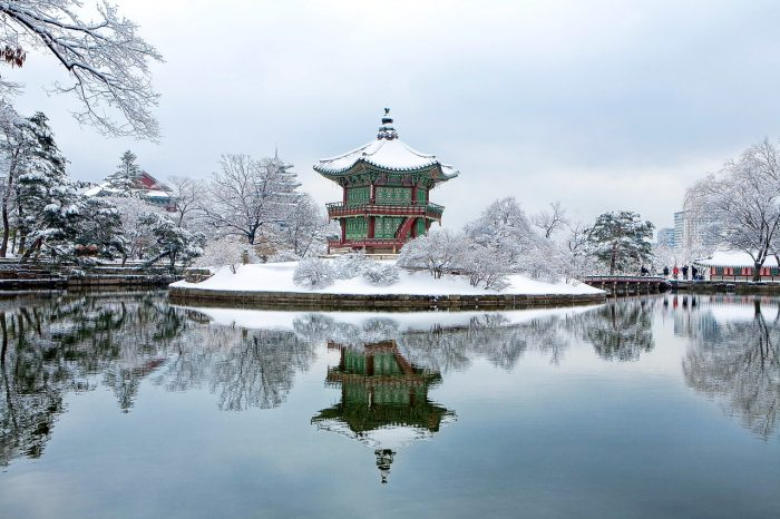 Gyeongbok Palace - Places to Visit in Korea During Winter