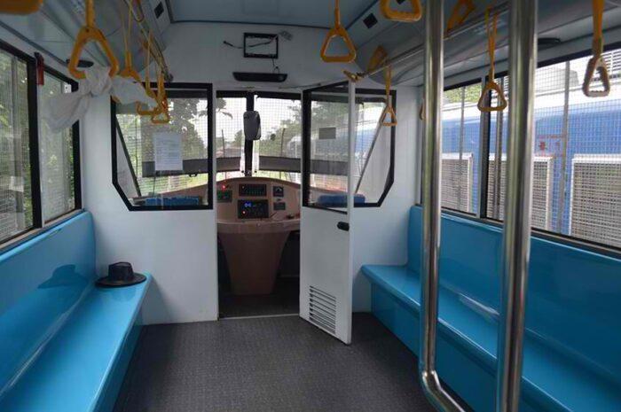 Inside PNR Train