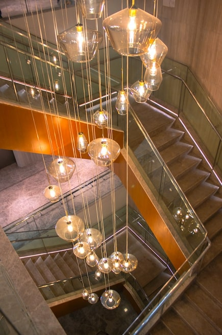 Lucky Chinatown Hotel Staircase