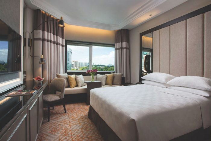 Orchard Hotel Singapore Deluxe Queen Room