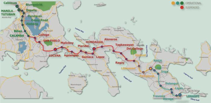 PNR Route Map