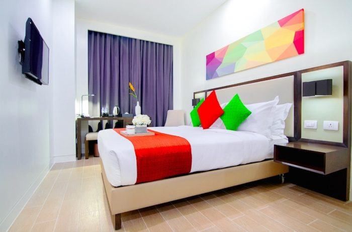 Standard Queen Room at Hotel Lucky Chinatown