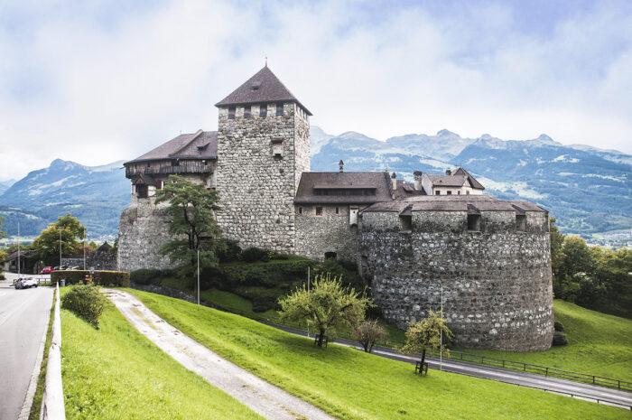 Vaduz Castle in little Liechtenstein.