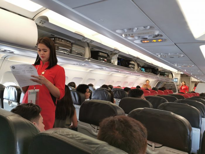 AirAsia Flight to Osaka