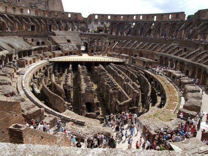 Colosseum Amphitheatre Rome Italy