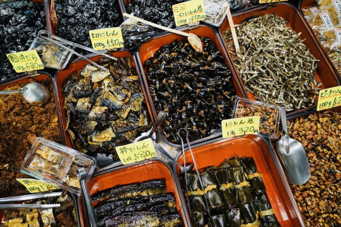 Dried and Preserved Food at Nishiki Market